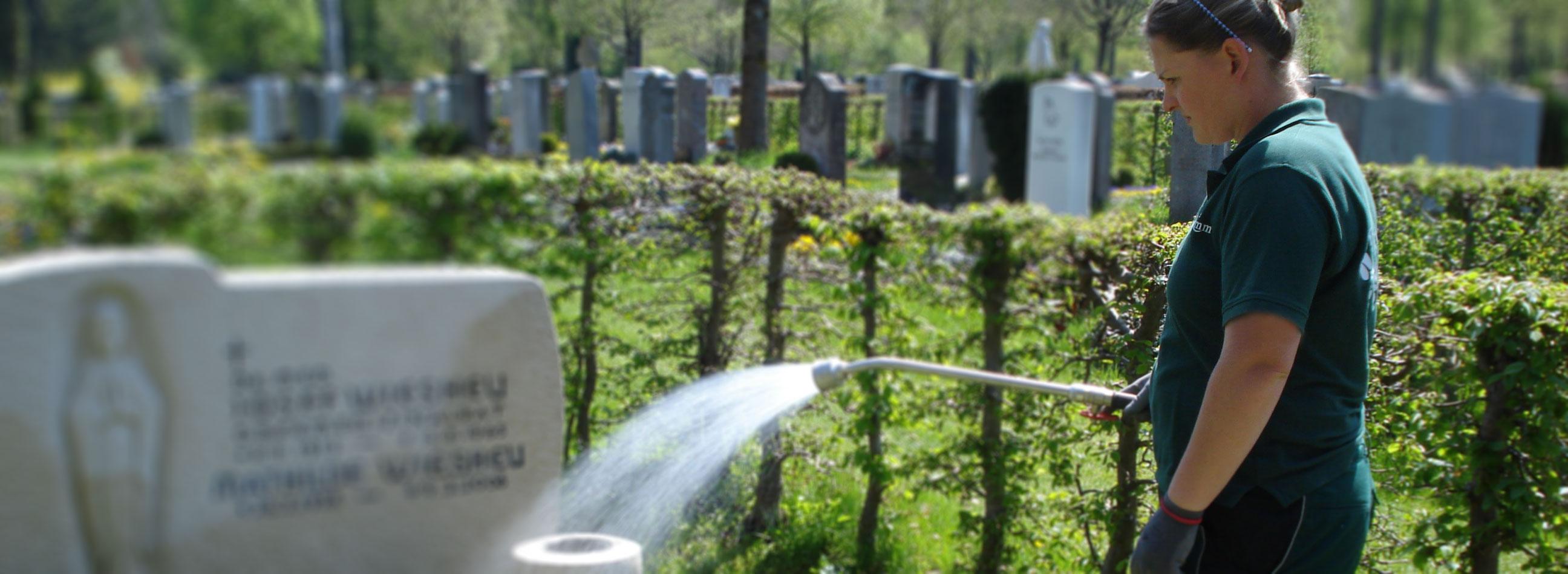 Über uns, das Team der Grabpflege Brumm in München
